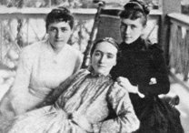 Mary Virginia Merrick and her sisters